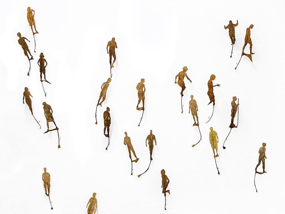 248 Moments | Wandinstallation | 2016 |  276 x 2.300 cm (Ausschnitt)