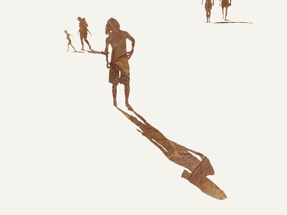 Beach Boy | Lauf auf Papier | 2013 | 60 x 80 cm