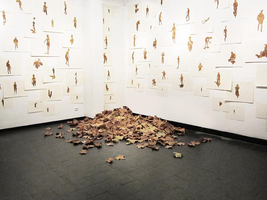 111 Moments | Rauminstallation | 2012 | 380 x 500 x 580 cm (Ausschnitt)